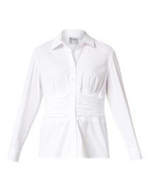Walker White Cotton Shirt