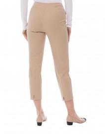 Piazza Sempione - Audrey Tan Stretch Cotton Capri Pant