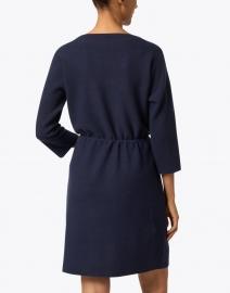 Fabiana Filippi - Navy Wool and Silk Knit Dress