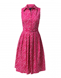 Audrey Rose Chanel Tweed Printed Stretch Cotton Dress