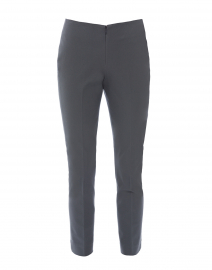 Jerry Pewter Grey Stretch Cotton Pant