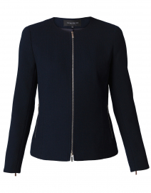 Kayla Navy Wool Jacket