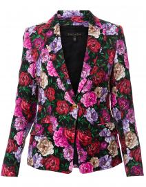 Brikenani Multicolored Floral Blazer