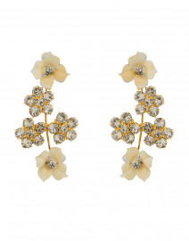 Heather Champagne Earrings