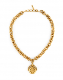 Westerly Gold Coin Chain Necklace