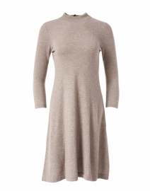 Hazelnut Beige Cashmere Dress
