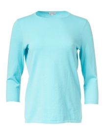 Kinross - Aqua Stretch Pima Cotton Sweater