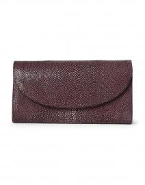 Baby Grande Merlot Stingray Clutch