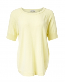Citrus Yellow Cashmere Sweater
