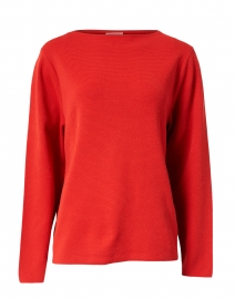 Begonia Coral Lurex Sweater