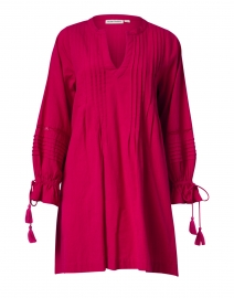 Ora Magenta Cotton Dress