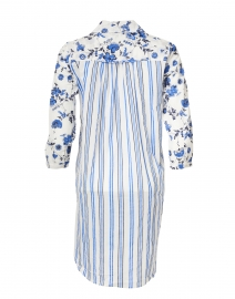 Ro's Garden - Brooklyn Blue Provence Floral Print Dress