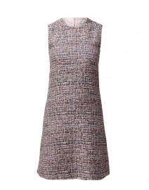 Innocent Pink Tweed Shift Dress