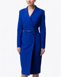 Max Mara - Dionea Sapphire Crepe Blazer Dress
