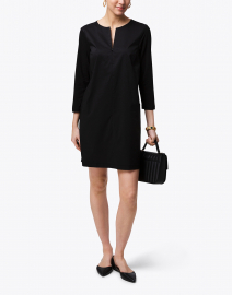 Raquel Black Woven Dress