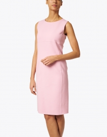 Max Mara Studio - Carol Pink Stretch Wool Crepe Dress