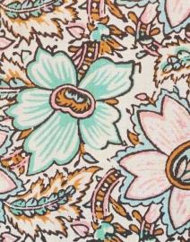 Figue - Cerelina Green Medina Bloom Print Top