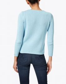 Leggiadro - Powder Blue Cotton Pullover