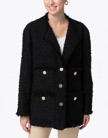 Edward Achour - Black Tweed  Jacket