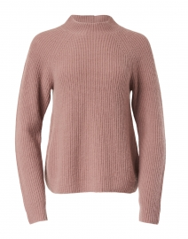 Pink Cashmere Shaker Sweater