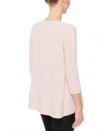 Cortland Park - Saint Tropez Pale Pink Cashmere Swing Sweater
