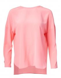 Light Pink Silk Blouse