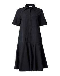 Bailey Black Cotton Shirt Dress