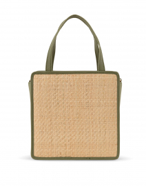 Kessie Natural Woven Straw Crossbody Bag