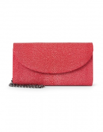 J Markell - Baby Grande Cherry Red Stingray Clutch