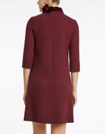 Goat - Kensington Plum Wool Crepe Tunic Dress