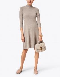 Kinross - Hazelnut Beige Cashmere Dress
