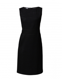 Brett Black Dual Weave Dress