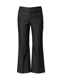Grace Grey Denim Subtle Flare Pant