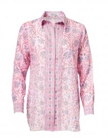 Natalie Pink Floral Print Shirt