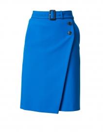 Vileawa Blue Belted Skirt