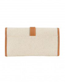 Modus Rio - Adrian Brown Linen and Leather Clutch