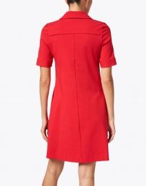 Goat - Lula Raspberry Jersey Polo Dress