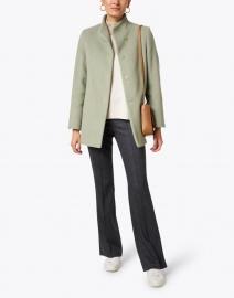 Cinzia Rocca Icons - Pistachio Wool Blend Jacket