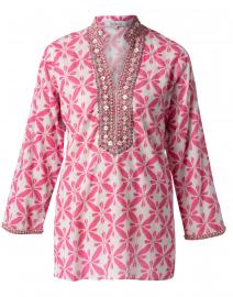 Marni Pink Shibori Cotton Tunic
