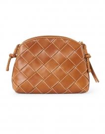 Loeffler Randall - Mallory Cognac Woven Leather Crossbody Bag