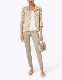 Lafayette 148 New York - Finnley White Silk Double Georgette Top