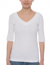 Marc Cain - White Crossover Top
