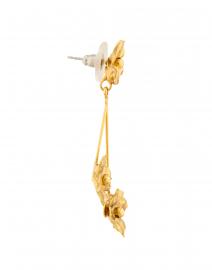 Jennifer Behr - Carmen Gold Flower Drop Earrings