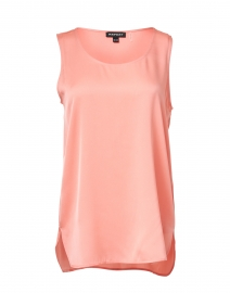Repeat Cashmere - Watermelon Pink Stretch Silk Tank