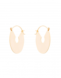Wire Gold Plate Hoops