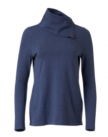 Indigo Pima Cotton Tunic