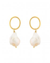 Aria Pearl Drop Earring