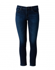 Prima Dark Blue Cigarette Leg Jean