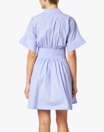 Emporio Armani - Light Blue Poplin Cotton Shirt Dress