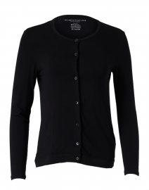 Black Soft Touch Long Sleeve Cardigan